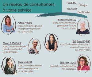Je vous présente mon réseau de consultantes sociales en Bretagne